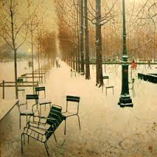 jardin in winter