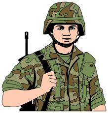 cartoon army man